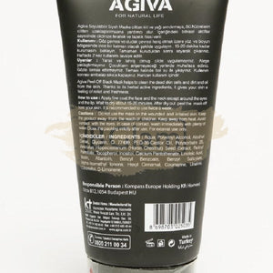 Agiva Peel Off Black Mask Activated Carbon Anti-Blackhead 150ml