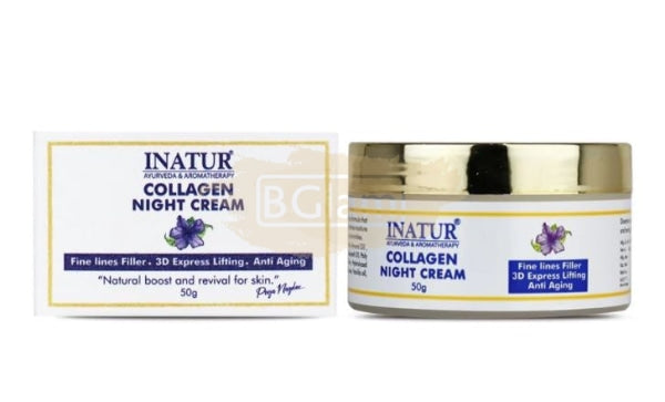 Inatur Collegen Night Cream (Skin Lifting cream)