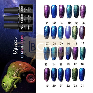 Mixcoco Soak-Off UV Gel Nail Polish Chameleon Collection