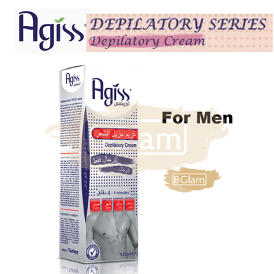 AGISS Depilatory Cream for Men
