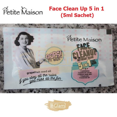 Petite Maison Face Clean Up 5 in 1 (5ml Sachet)