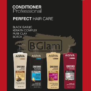 Agiva Professional Hair Conditioner 1000ml - Keratin Complex