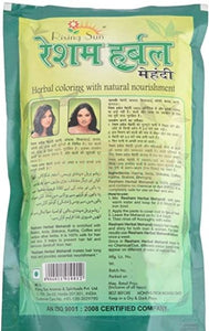 Resham Henna - Herbal Henna Black 90g