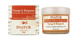 Inatur Scrub - Himalaya & Sugar (Face & Body. Smoothens, Polishes & Hydrates)