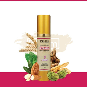 Inatur Damage Control Keratin Hair Serum