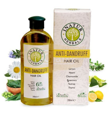 Inatur Oil - Anti-Dandruff Hair Oil