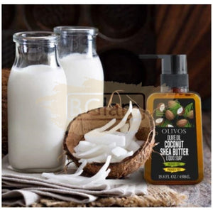 Olivos Olive Oil Coconut & Shea Butter 450ml (Sulfate & Paraben Free)