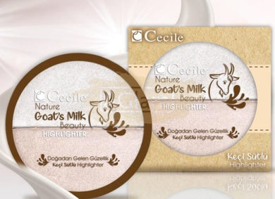 Cecile Nature Goat's Milk Beauty Highlighter (paraben free)