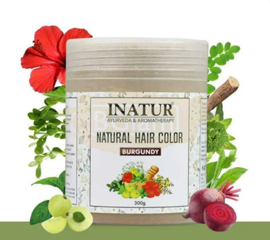 Inatur Natural Hair Color - Burgundy