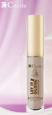 Cecile Nature Goat's Milk Beauty Liquid Highlighter (Paraben Free)