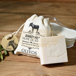Olivos Milk Soap - Donkey Milk (Body, Face & Hair)
