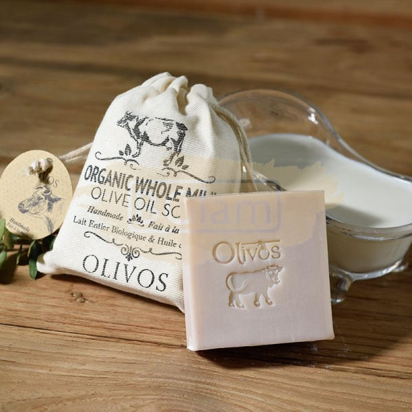 Olivos Milk Soap - Organic Whole Milk (Body, Face & Hair)