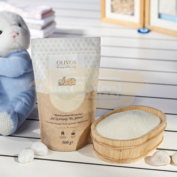 Olivos Baby Care - Pure Olive Oil Soap Powder for Baby Garments
