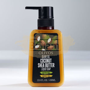 Olivos Liquid Soap - Coconut & Shea Butter 450ml (Sulfate & Paraben Free)