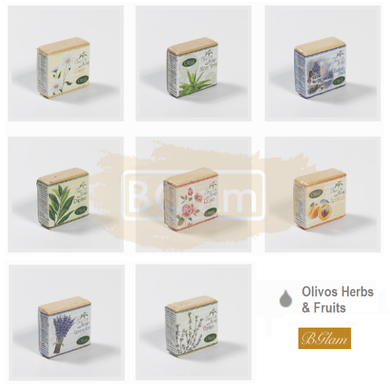 Olivos Classic Herbs & Fruits Series Soaps (126 gr)
