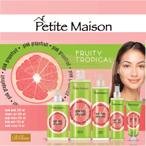 Petite Maison Pink Grapefruit Shower Gel & Body Lotion Set