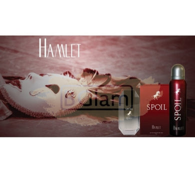Spoil EDT Man 50 ml & Deodorant 150 ml Gift Set - Hamlet