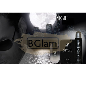 Spoil EDT Man 50 ml & Deodorant 150 ml Gift Set - Night