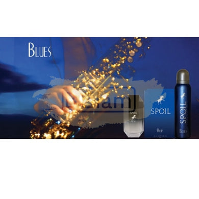 Spoil EDT Man 50 ml & Deodorant 150 ml Gift Set - Blues