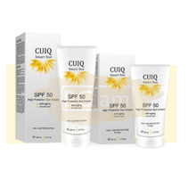 CUIQ Sunscreen - High Protection Sun Cream, Anti-Aging & Anti-Dark Spot SPF 50