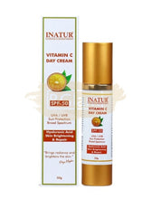 Inatur Vitamin C Day Cream SPF50 (Skin Brightening & Repair)