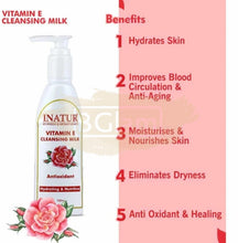 Inatur Vitamin E Cleansing Milk (Hydrating & Nutritive)