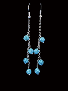 Madisyn Crystal Drop Earrings
