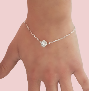 floating crystal bracelet