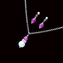 Load image into Gallery viewer, Dee Bridal Jewelry Set