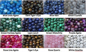 natural gemstone color chart