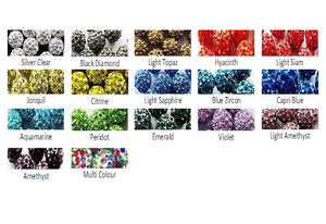 crystal rhinestone colors