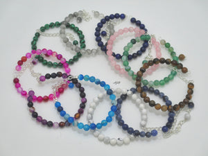 natural gemstone bracelet colors