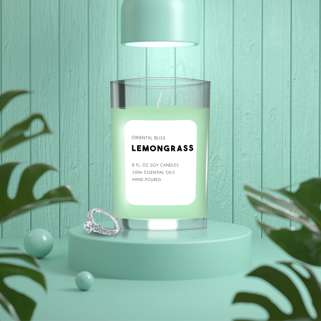 LEMONGRASS SCENTED CANDLE