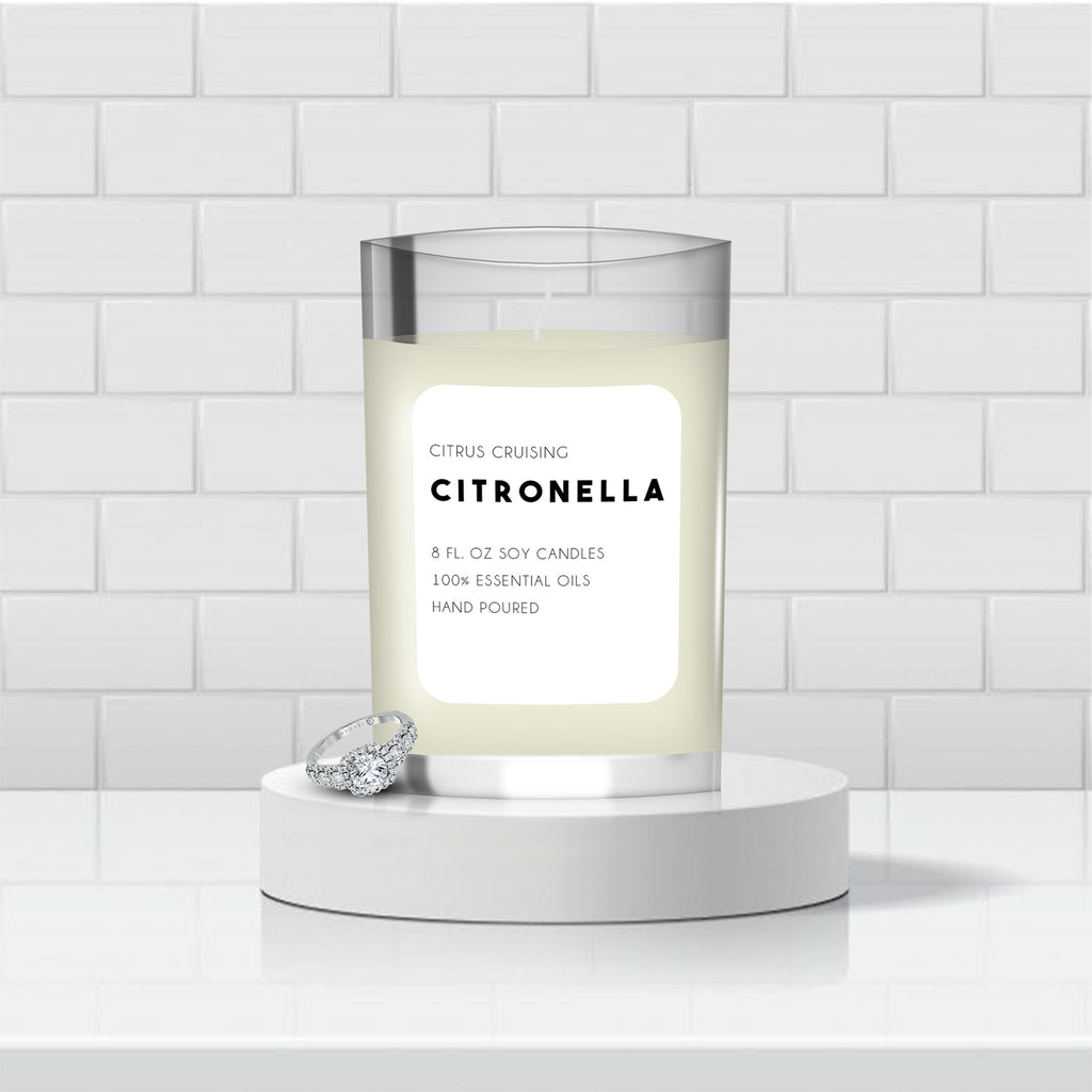 CITRONELLA SCENTED CANDLES