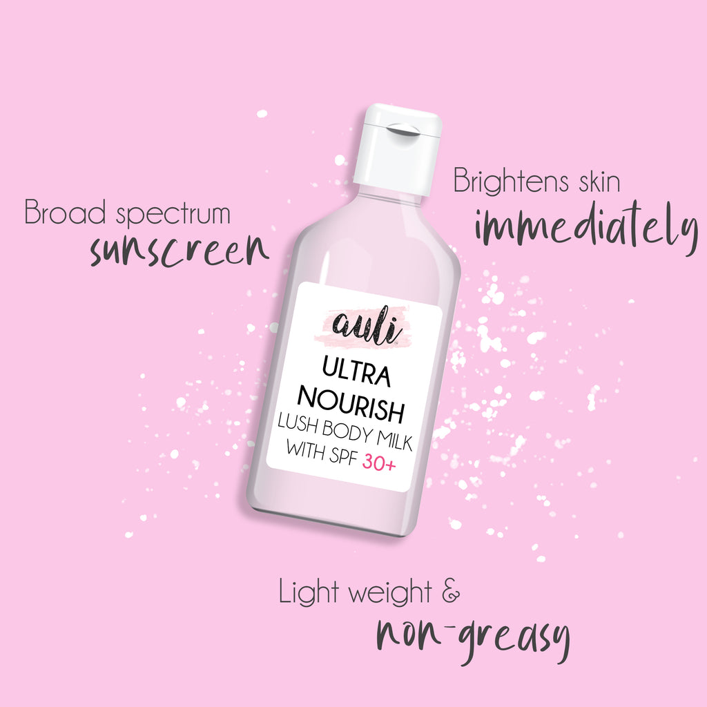 ULTRA NOURISH - LUSH-ALL DAY BODY MILK WITH SPF 30++