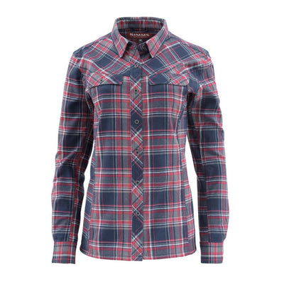Simms Women's Primaloft Blend Flannel Shirt
