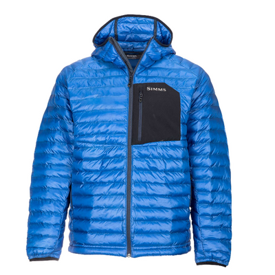 Simms Exstream Hooded Jacket Rich Blue