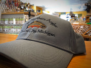 Grey Northern Angler Performance Cap