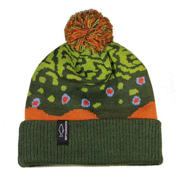 Rep Your Water Brook Trout Knit Hat
