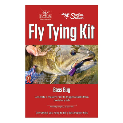 Fly Tying Kit - Bass Popper