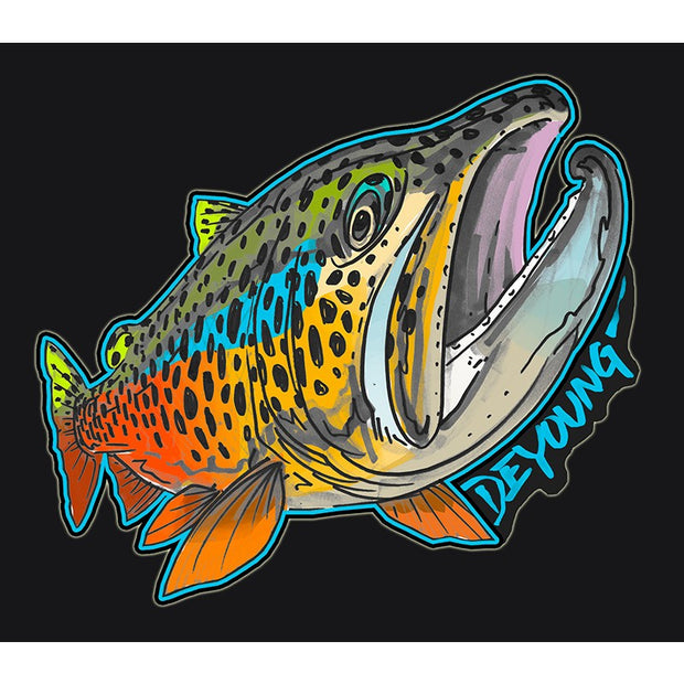 DeYoung Brown Rising Decal
