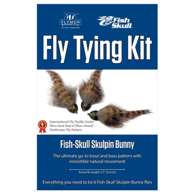 Fly Tying Kit - Fish Skull Skulpin Bunny