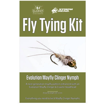 Fly Tying Kit - Evolution Mayfly Clinger Nymph