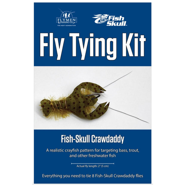 Fly Tying Kit - Fish Skull Crayfish