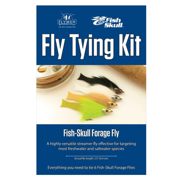 Fly Tying Kit - Fish Skull Forage Fly