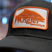 Northern Angler Patch Trucker Grey