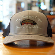 Khaki/Coffee Northern Angler Trucker