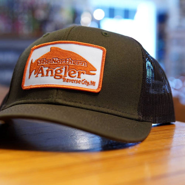 Northern Angler Patch Trucker Loden