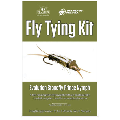 Fly Tying Kit - Evolution Stonefly Prince Nymph