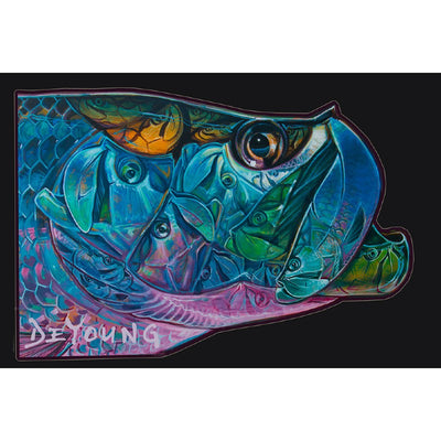 DeYoung Tarpon Kaleidescope Decal